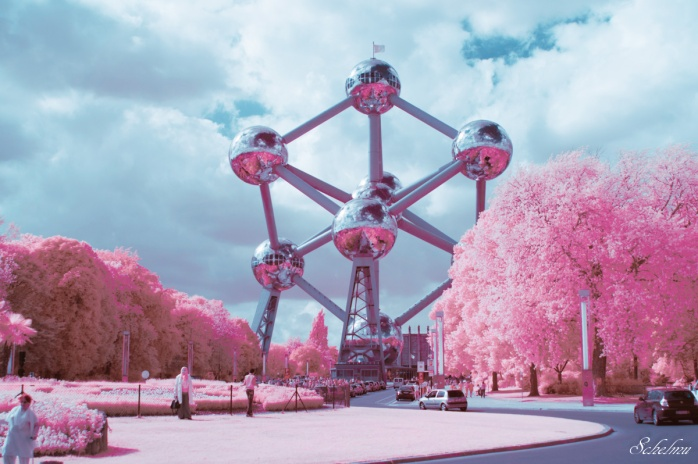 atomium-brussel-infrarot-ir-infrarotfoto-belgien