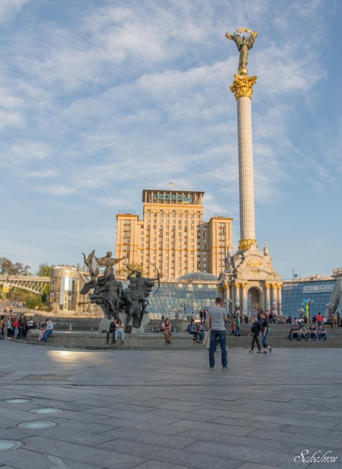majdan-kiew-kyjiw-ukraine-platz