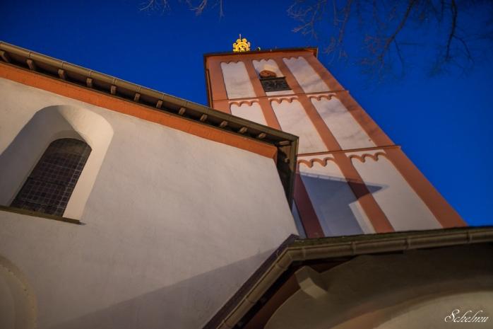 siegen oberstadt blaue stunde nikolaikirche