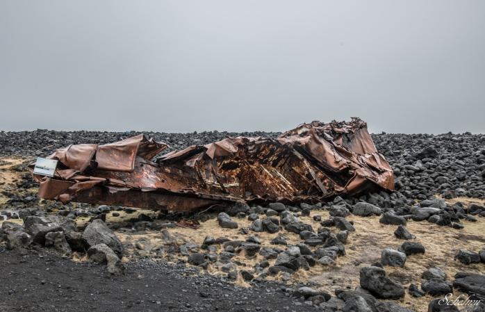 island schiffswrack