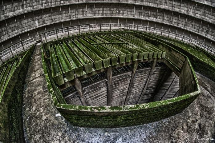 verlassener kühlturm urbex lost place 4