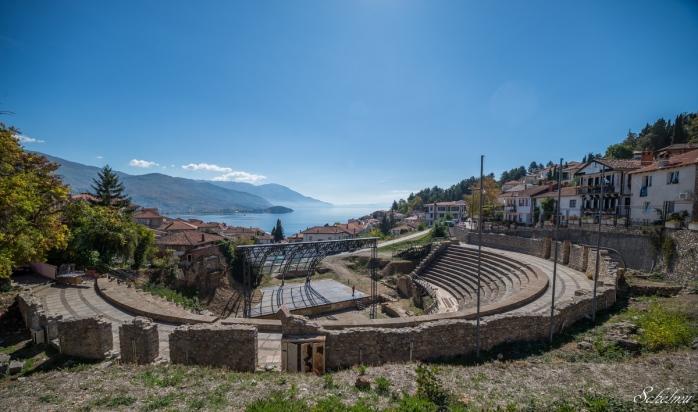 ohrid mazedonien amphitheater